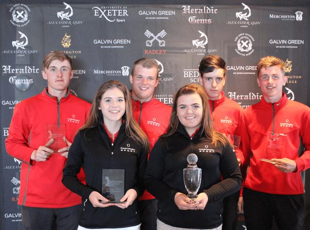 hartpury B nett winners